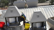 Roof Mounted Kitchen Exhaust Fan Type 1