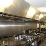 Commercial kitchen cleaned