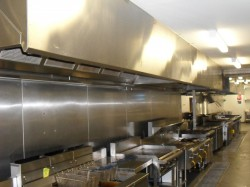 Minesite Commercial Kitchen Cleaning Canopy